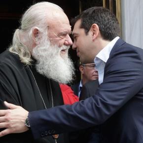Τρίωρη άτυπη συνάντηση του Αλέξη Τσίπρα με τον Αρχιεπίσκοπο Ιερώνυμο Επιβεβαιώθηκε η θερμή και λειτουργική σχέση εκκλησίας –πολιτείας