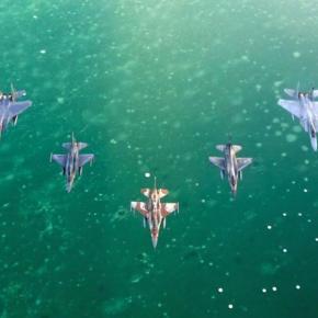 Η Πολεμική Αεροπορία στη Blue Flag 2015(φωτογραφίες)