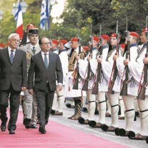 Μήνυμα Ολάντ σε Τσίπρα για μεταρρυθμίσεις και υποσχέσεις για χρέος, επενδύσεις Γαλλική στήριξη μόνο με τήρηση τουΜνημονίου