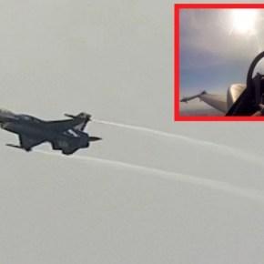 ΕΝΩΜΕΝΟΙ, ΔΥΝΑΤΟΙ ΚΑΙ ΠΕΡΗΦΑΝΟΙ… Ο ΠΙΛΟΤΟΣ ΤΟΥ F-16 ΠΡΟΚΑΛΕΣΕ ΡΙΓΗ ΣΥΓΚΙΝΗΣΗΣ(βίντεο)