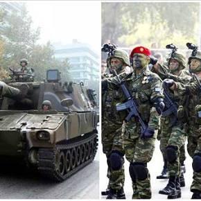 ΖΗΤΩ Η ΕΛΛΑΣ – Μεγαλοπρεπής η στρατιωτική παρέλαση(βίντεο)