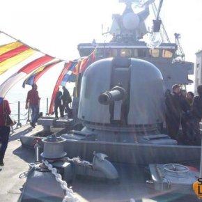 Στο κατάστρωμα της πυραυλάκατου Ρουσσέν(ΦΩΤΟ)