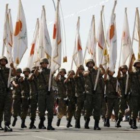 Κύπριοι αγωνιστές στην παρέλαση της 28ηςΟκτωβρίου