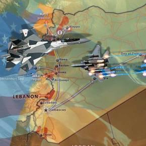 Φόβοι για εμπλοκή μαχητικών ΗΠΑ-Ρωσίας στους ουρανούς τηςΣυρίας