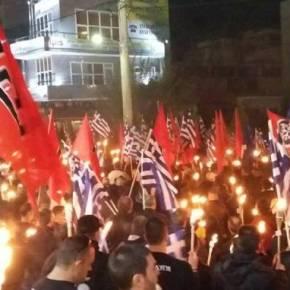 Χιλιάδες Εθνικιστές στον τόπο θυσίας των δύο Ηρώων! Πρώτεςεικόνες