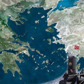 Τουρκικά υποβρύχια σχεδιάζουν να αποκλείσουν τα νησιά του Αιγαίου από την ηπειρωτικήΕλλάδα