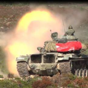 Στο… Κόκκινο ο Στρατός στα Νησιά… Οι Τούρκοι Προκαλούν και Τα Άρματα ΆνοιξανΠυρ
