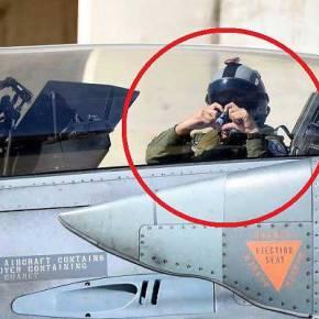 ΕΛΛΑΔΑΡΑ ΛΕΜΕ…! ΔΕΙΤΕ ΓΙΑΤΙ ΟΛΟ ΤΟ ΙΣΡΑΗΛ ΑΓΑΠΗΣΕ ΑΥΤΟΝ ΤΟΝ ΈΛΛΗΝΑ ΠΙΛΟΤΟ F-16(ΦΩΤΟ)