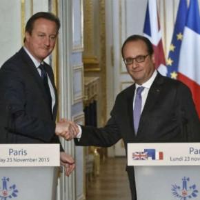 Γαλλία-Βρετανία εντείνουν τη συνεργασία κατά τουΙ.Κ.
