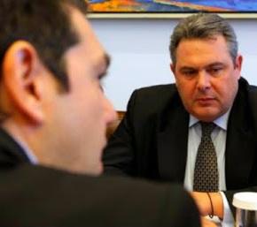 Δήλωση ΥΕΘΑ Πάνου Καμμένου μετά την συνάντηση του με τον πρωθυπουργό ΑλέξηΤσίπρα