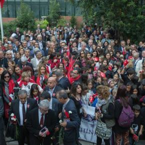 Χιλιάδες Τούρκοι στη Θεσσαλονίκη τίμησαν τονΚεμάλ
