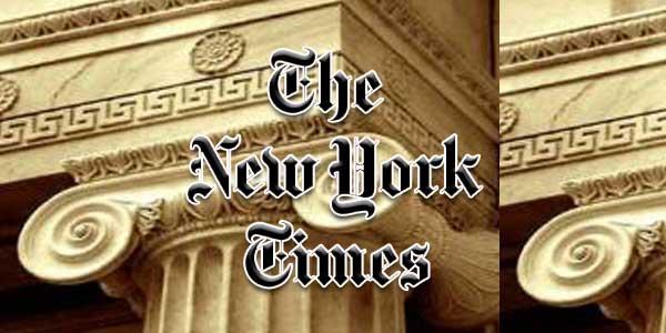 Image result for New York Times 1975: Οι 'Ελληνες έστησαν τον Άνθρωπο στα πόδια του.