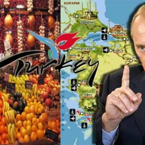 Ρωσικό εμπάργκο με πρόσχημα «ελέγχους» σε όλα τα τουρκικά προϊόντα ξεκινά η Ρωσία. Ακούνε οι Έλληνες παραγωγοί καιβιοτέχνες;