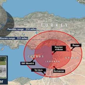 Η Ρωσία ετοιμάζεται για σύγκρουση με τη Τουρκία – Βρετανικές υπηρεσίες: «Αυτά είναι τα τόξα βολής των S-400 Triumf στον τουρκικό εναέριο χώρο»(vid)