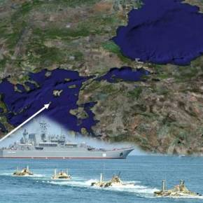 Η Ρωσία ετοιμάζεται για αποβατική ενέργεια στα Δαρδανέλια σε περίπτωση «μπλακ άουτ» απόΤουρκία