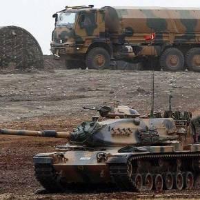 Πολεμικές μετακινήσεις δυνάμεων της Τουρκίας στα σύνορα με τηνΣυρία