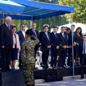 Παυλόπουλος: Η σφαγή της Χίου δείγμα γραφής της τουρκικής βαρβαρότητας -ΕΚΔΗΛΩΣΕΙΣ ΓΙΑ ΤΗΝ ΑΠΕΛΕΥΘΕΡΩΣΗΤΗΣ