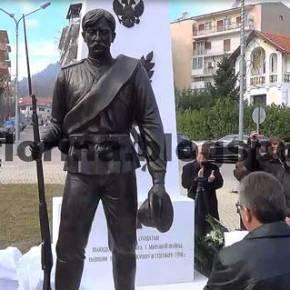 Tα αποκαλυπτήρια του μνημείου για τους Ρώσους στρατιώτες του Μακεδονικού Μετώπου του Α' Παγκοσμίου Πολέμου(video)