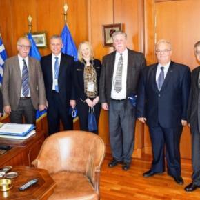 Συνάντηση Βίτσα με υψηλόβαθμη αντιπροσωπεία της Lockheed Martin για τη συνεργασία με τηνΕΑΒ
