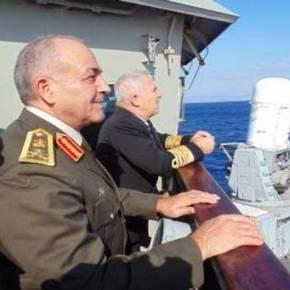 Ελλάδα – Αίγυπτος μαζί στην κοινή στρατιωτική άσκηση στην Μεσόγειο[φωτο]