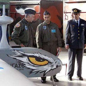 Στα Ελληνικά Μη Επανδρωμένα Αεροσκάφη «ΠΗΓΑΣΟΣ» ο Αρχηγός της ΤΑ!(video)