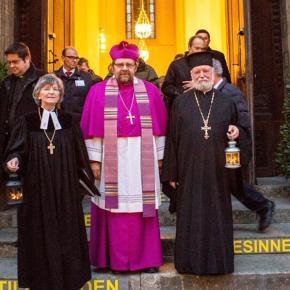 Το Αγιον Φως σε πόλεις και χωριά της ΚεντρικήςΕυρώπης
