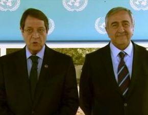Κύπρος: Κοινές ευχές Αναστασιάδη- ΑκιντζίΒΙΝΤΕΟ