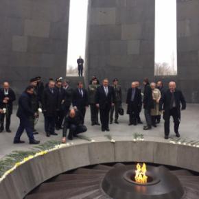 Θρίαμβος της Ελλάδας στην Αρμενία με την επίσκεψη του Πάνου Καμμένου – τα ελληνόφωνα κανάλια όμως δεν το«παρατήρησαν»