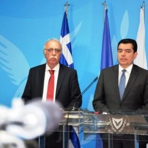 Βίτσας από Κύπρο:»Η Αθήνα δεν παρεμβαίνει στις διαπραγματεύσεις αλλά στηρίζει τηΛευκωσία»