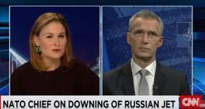 Δημοσιογραφάρα του CNN ξεφτίλισε το Τουρκοφιλο Γραμματέα του NATO στονΑέρα!