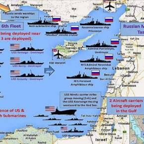 Το «χιλιάρμενο» μαζεύτηκε και πάλι στην Ανατολική Μεσόγειο και με ελληνική ναυτικήπαρουσία!