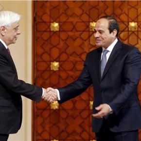 Παυλοπουλος σε Αλ-Σίσι «Συνεχίζουμε την παράδοση 40 Αιώνων συνεργασίας-φιλιας-ειρηνικής συνύπαρξης»