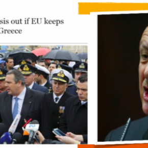 Ο Ερντογάν εκβίασε με τους πρόσφυγες την ΕΕ η οποία είχε ενοχληθεί από τη δήλωσηΚαμμένου!