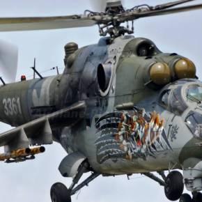ΣΑΡΩΝΟΥΝ ΤΑ ΧΩΡΙΑ ΤΩΝ ΤΟΥΡΚΜΕΝΩΝ Τα επιθετικά ελικόπτερα Mil Mi-35 που υπηρετούν στην κυπριακή Εθνοφρουρά έστειλε η Ρωσία στην Συρία (vid)–