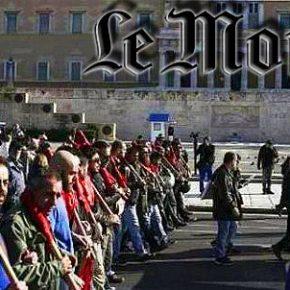 LE MONDE: Οι Έλληνες δεν έχουν όρεξη ούτε να διαδηλώσουνπλέον