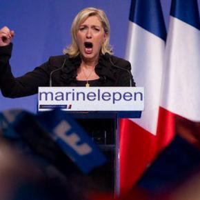 Σεισμός στην Ευρώπη από τον θρίαμβο της Λεπέν  Φωτιά στην Ευρώπη από το αποτέλεσμα των γαλλικών περιφερειακών εκλογών και τον θρίαμβο της Μαρίν Λεπέν του ακροδεξιού FN στις πρώτες κάλπες μετά τιςεπιθέσεις.
