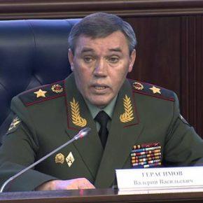 Στρατηγός Β. Γερασίμωφ: «Εχθρική η αμυντική πολιτική του ΝΑΤΟ απέναντι στην Ρωσία»(ΒΙΝΤΕΟ)