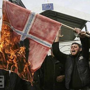 Συναγερμός στην Νορβηγία – Εκατοντάδες «πρόσφυγες» με σημαίες και σύμβολα τουISIS