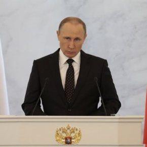 Πούτιν κατά Τουρκίας: Ο Αλλάχ τους έκανε να χάσουν τα λογικά τους -«Θα το μετανιώσουν πολλές φορές» σημείωσε σε ομιλία του προςβουλευτές