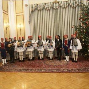 Τα κάλαντα των Χριστουγέννων άκουσε ο Πρόεδρος τηςΔημοκρατίας