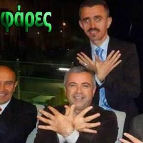 Εδραιώνεται η στρατηγική περικύκλωση της Ελλάδας: Τούρκοι και Αλβανοί αξιωματούχοι σχηματίζουν τον αετό της «Μεγάλης Αλβανίας» (φωτό,vid)