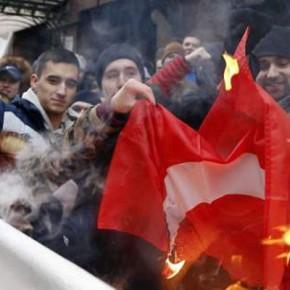 Γιγαντώνεται το μίσος κατά τηςτουρκίας