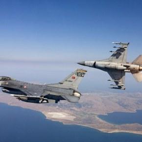 Υπερπτήσεις τουρκικών F-16 πάνω από Φούρνους καιΑγαθονήσι