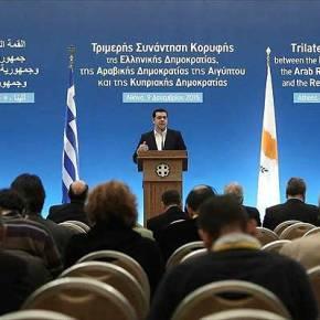 Η ισχύς εν τη ενώσει: Ελλάδα, Κύπρος, Αίγπτος, επισπεύδουν την οριοθέτηση των ΑΟΖ(βίντεο)