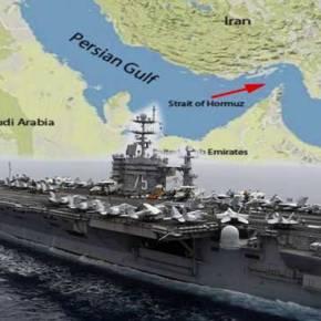 «Θερμό επεισόδιο» στα Στενά του Ορμούζ: Οι Ιρανοί εκτόξευσαν πυραύλους που «έξυσαν» το αμερικανικό αεροπλανοφόρο HarryS.Truman