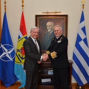 Συνάντηση Αρχηγού ΓΕΕΘΑ με τον Πρέσβη τωνΗΠΑ