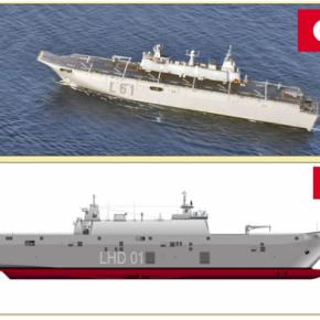 Η Τουρκία ετοιμάζει τη νέα ναυαρχίδα της! Το ANADOLU στην τελική ευθεία!ΒΙΝΤΕΟ