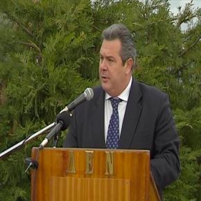 Ομιλία Π.Καμμένου για την κύρωση της συμφωνίας μεταξύ Ρωσίας και Ελλάδας για την προμήθεια αμυντικού υλικού–
