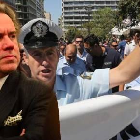 Στο Κόκκινο η Ελληνική Αστυνομία: «Θα τα πούμε στο δρόμοΚατρούγκαλε…»