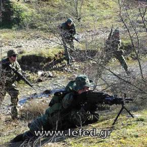 Εκπαίδευση στον αγώνα πεζικού από τη ΛΕΦΕΔ στον νομόΈβρου